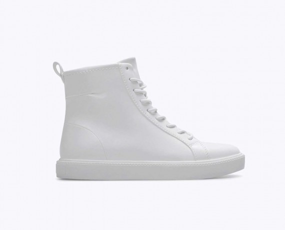 All White Sneakers