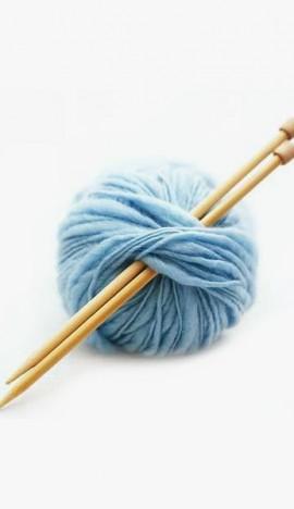 Wool Knit Scarf-Coat