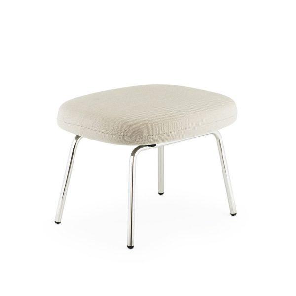 Form Armchair white/oak