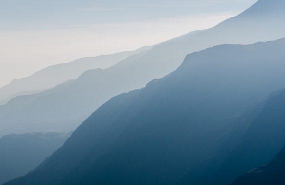 Haze on Peaks