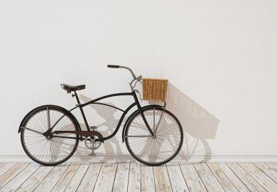 Wall Behind Small Cycle
